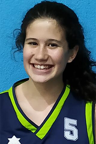 #5 JIMENA FERNANDEZ. Ala-Pívot 1,74